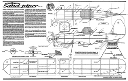 Sand-Piper Aeroflyte model airplane plan