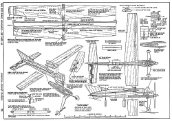 Santana-AAM-09-68 model airplane plan