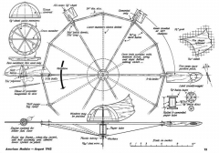 Saucer-AM-08-62 model airplane plan