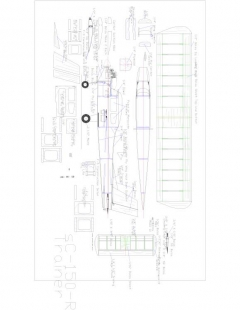 Sc150r Model 1 model airplane plan