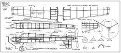 Scamper Jr model airplane plan