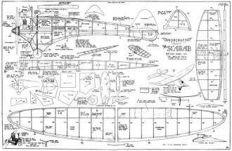Scarab model airplane plan