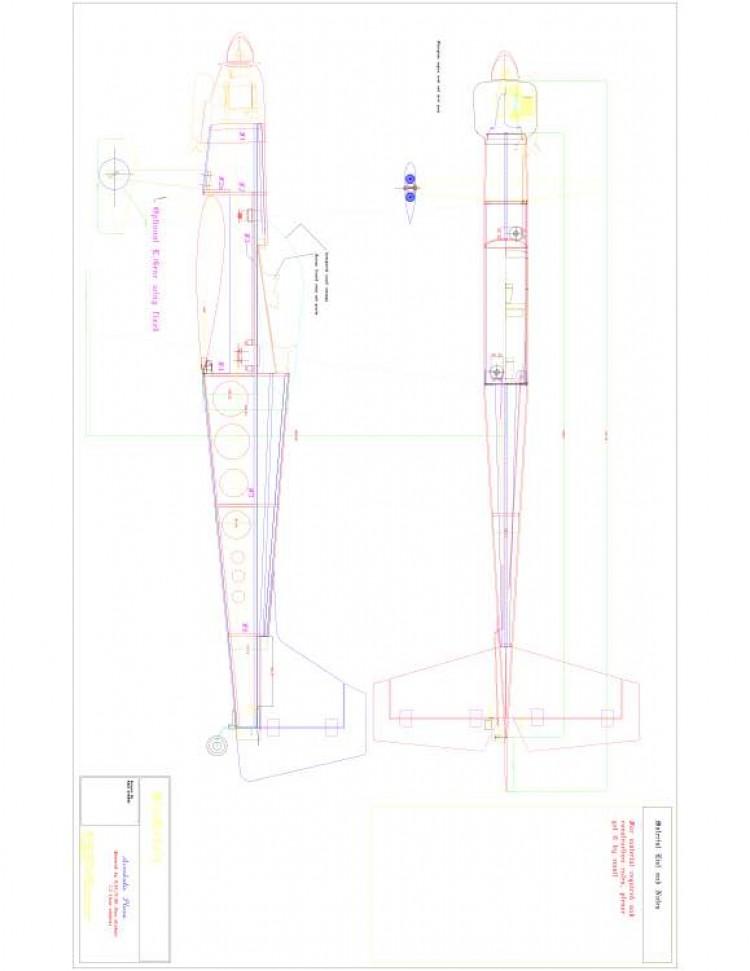 Scenick 1 Model 1 model airplane plan