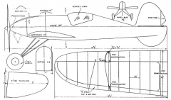 Schiffermuller 27in layout model airplane plan