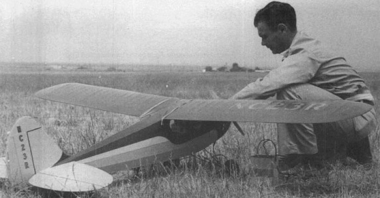 Schneider Cub model airplane plan