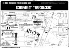 Schoenfeldt model airplane plan
