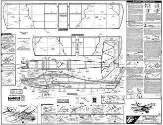 Schoolgirl model airplane plan