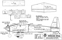 Schoolyard Special RCM-683 model airplane plan