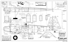 Schutt Tripe-Bipe RCM-04-92-1115 model airplane plan