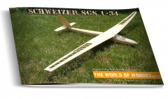 Schweizer SGS 1-34 model airplane plan