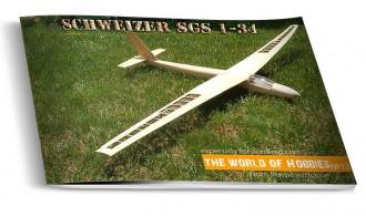 Schweizer SGS 1-34 model airplane plan