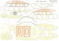 Short Scion model airplane plan