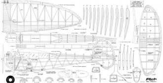Super Scorpion model airplane plan