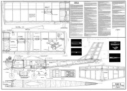 Scout 15 model airplane plan