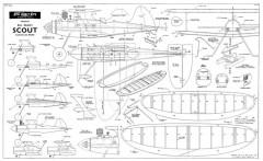 Scout model airplane plan