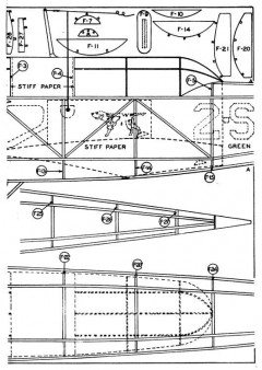 Scout p2 model airplane plan