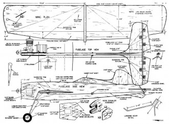 Scouts Trainer model airplane plan
