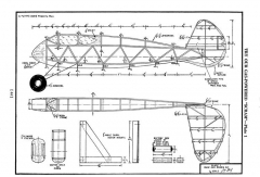 Scram 2 model airplane plan