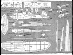 Scramble model airplane plan
