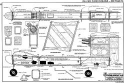 Sdrawkcab RCM-864 model airplane plan