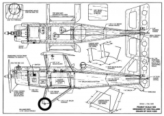 Se5 Peanut RC model airplane plan