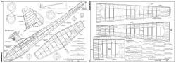 Sea Gull Soarer-FM-08-08-1962 model airplane plan