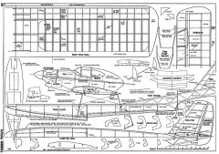 Sea Horse-FM-05-67 model airplane plan