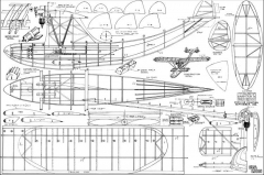 Sea Lion model airplane plan