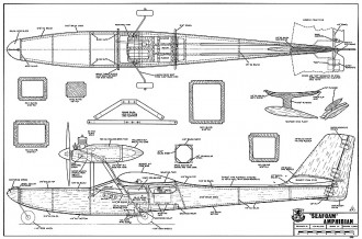 Seafoam RCM-386 model airplane plan