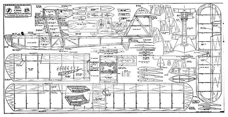 Seal model airplane plan