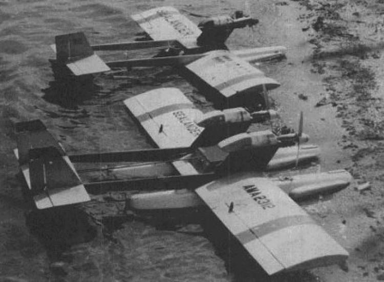Sealander II model airplane plan