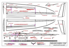 Searcher-120 Ser3M model airplane plan