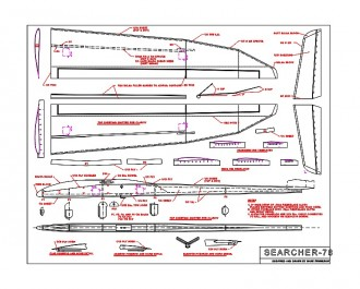 Searcher-78 Ser2M model airplane plan