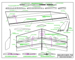 Searcher FW model airplane plan