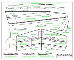 Searcher FW model airplane plan
