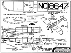 Security Sport model airplane plan