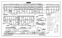 Seek Plan model airplane plan