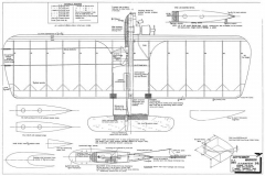 September Warrior model airplane plan