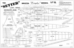 Setter model airplane plan