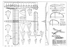 Severan model airplane plan