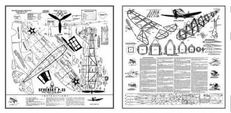 Seversky P-35 Ace Whitman model airplane plan