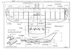 Shark model airplane plan