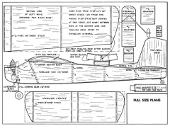 Sharpie model airplane plan