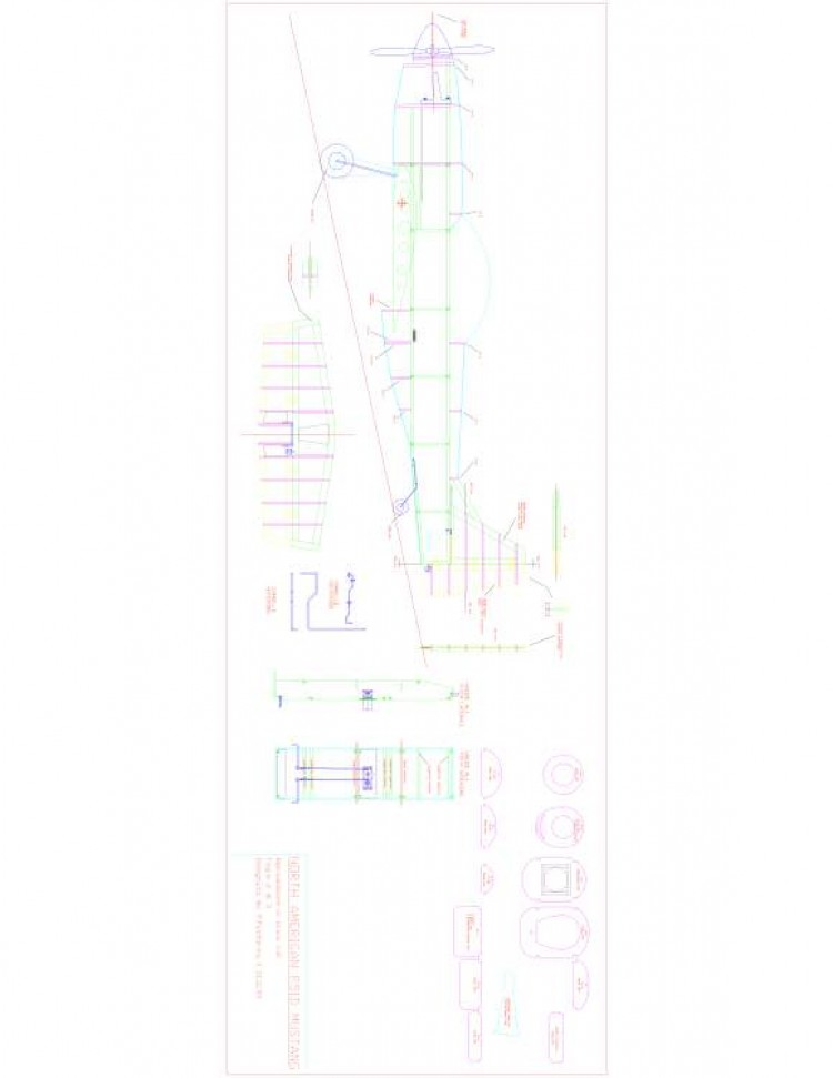 Sheet02 Model 1 model airplane plan
