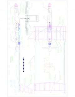 Sheet 01 Model 1 model airplane plan