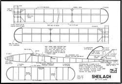 Sheilagh model airplane plan