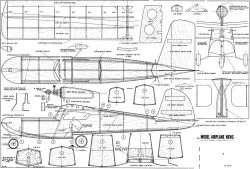 Shoehorn 32in model airplane plan