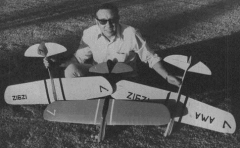 Shoestring Rat Racer model airplane plan