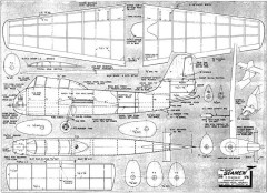 ShortSeamew model airplane plan
