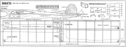 Shufti  1948 cl model airplane plan